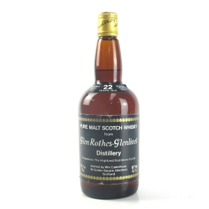 Glenrothes 1957 Cadenhead's 22 Year Old / Sherry Wood Matured