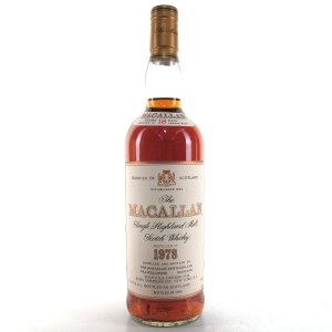 Macallan 18 Year Old 1978 75cl / US Import
