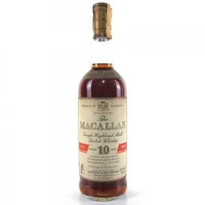 Macallan 10 Year Old Full Proof 1980s