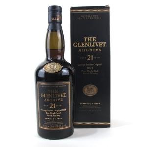 Glenlivet 21 Year Old Archive 75cl / US Import