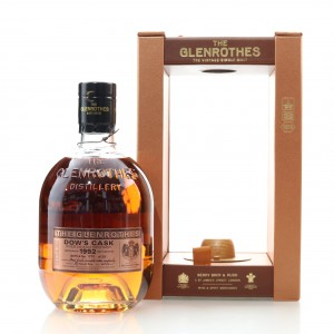 Glenrothes 1992 Dow's Cask Finish 24 Year Old / Grimaldi Collection