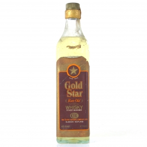 Gold Star Rare Old Whisky 1960s