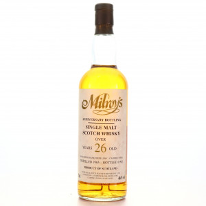 Springbank 1965 Milroy's 26 Year Old Anniversary Bottling