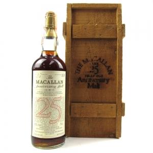 Macallan 1957 Anniversary Malt 25 Year Old