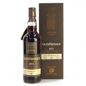 Glendronach 1971 Single Cask 40 Year Old #1436
