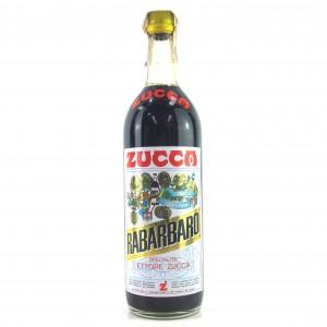 Zucca Elixir Rabarbaro 1 Litre 1960s