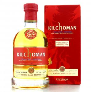 Kilchoman 2008 Single Bourbon Cask #484 / The Whisky Shop