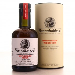 Bunnahabhain 10 Year Old Hand Filled 20cl / Manzanilla Cask