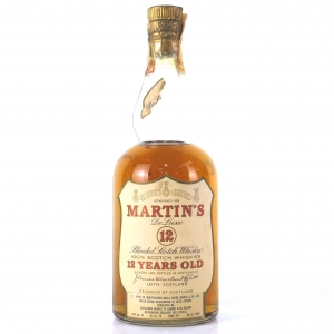 Martin's 12 Year Old De Luxe Scotch 1960s