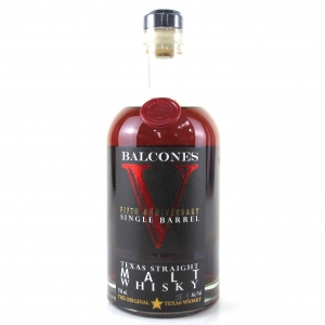Balcones Fifth Anniversary Single Barrel