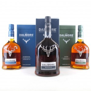 Dalmore Fortune Merita Collection 3 x 70cl / Dominium, Regalis, Luceo