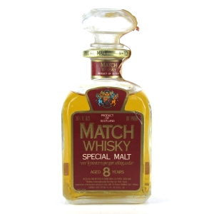 Match 8 Year Old Special Malt 1970s / Branca Import