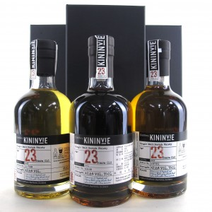 Kininvie 23 Year Old Collection 3 x 35cl