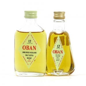 Oban 12 Year Old 1970s Miniatures Circa 1960s/1970s