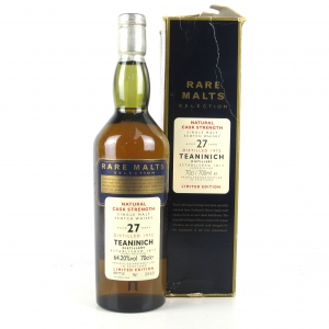Teaninich 1972 Rare Malt 27 Year Old / 64.2%
