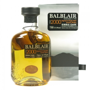 Balblair 2000 Single Cask #1350 / The Gathering Place Front