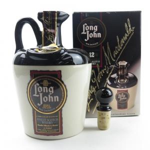 Long John 12 Year Old Stoneware Decanter