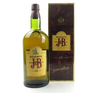 J&B 15 Year Old Reserve 1 Litre