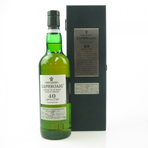Laphroaig 40 Year Old / Bottle #0002