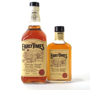 Early Times Kentucky Straight Bourbon 70cl & 20cl