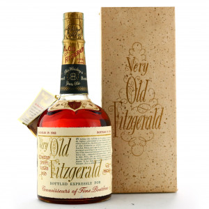Very Old Fitzgerald 1962 Bottled in Bond 8 Year Old 100 Proof / Stitzel-Weller