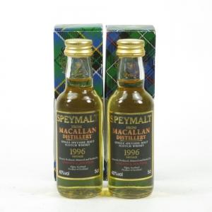 Macallan 1996 Speymalt 2 x 5cl
