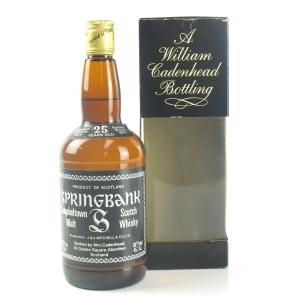 Springbank 1954 Cadenhead's 25 Year Old
