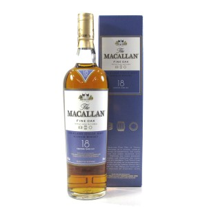 Macallan 18 Year Old Fine Oak