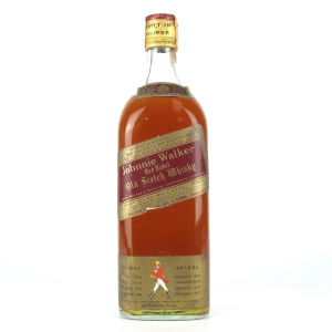 Johnnie Walker Red Label 2 Litre 1970s / Wax & Vitale Import