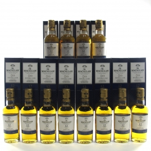 Macallan 12 Year Old Double Cask Miniature 12 x 5cl