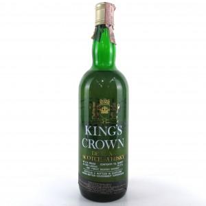 King's Crown De Luxe Scotch 1960s