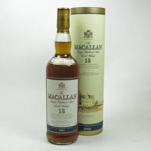 Macallan 1985 18 Year Old