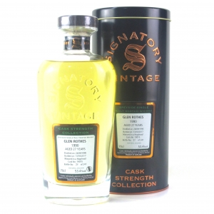 Glenrothes 1990 Signatory Vintage 27 Year Old