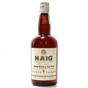 Haig Gold Label 1970s