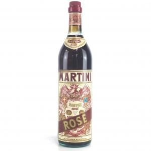 Martini Rose Vermouth 93cl 1970s