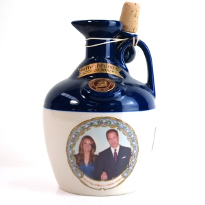 Rutherford's Scotch Whisky Decanter / Prince William and Kate Middleton