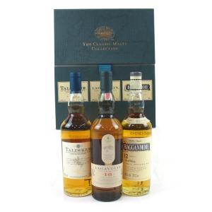 Classic Malt Gift Pack : Cragganmore / Talisker / Lagavulin 3 x 20cl
