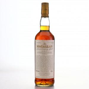 Macallan 1974 Anniversary Malt 25 Year Old