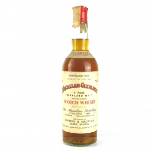 Macallan 1949 Gordon and MacPhail 25 Year Old / Pinerolo Import