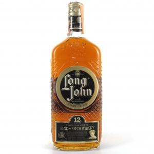 Long John 12 Year Old 1980s / Stock Import