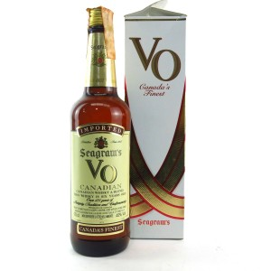 Seagram's VO 6 Year Old Canadian Whisky 1980s