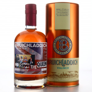 Bruichladdich 1992 Valinch 'God Save the Queen' 20 Year Old