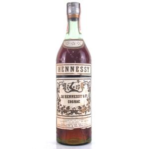 Hennessy 3 Star Cognac circa 1950s / US Import