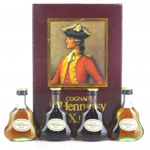 Hennessy XO Cognac Giftpack 4 x 5cl
