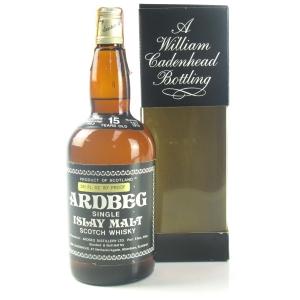 Ardbeg 1963 Cadenhead's 15 Year Old
