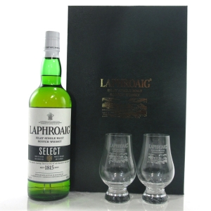 Laphroaig Select / with 2 x Glasses