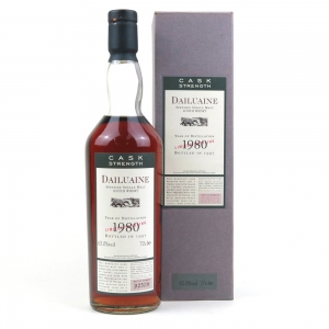 Dailuaine 1980 Flora and Fauna Cask Strength