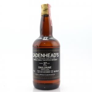 Dailuaine 1962 Cadenhead's 27 Year Old