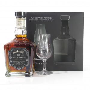 Jack Daniel's Single Barrel Select Gift Pack / Including Glass