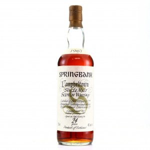 Springbank 1967 24 Year Old 75cl / US Import